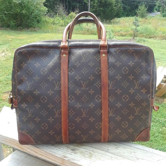 99ee17ebf652f Louis Vuitton Handbags - SALE Vintage Louis Vuitton document laptop bag